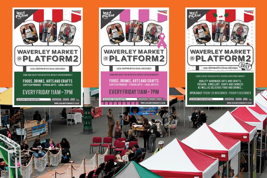 Waverley Market Platform 2